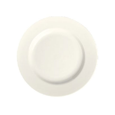 "Homer Laughlin 44400 10.63"" Round Plate - China, Ivory"