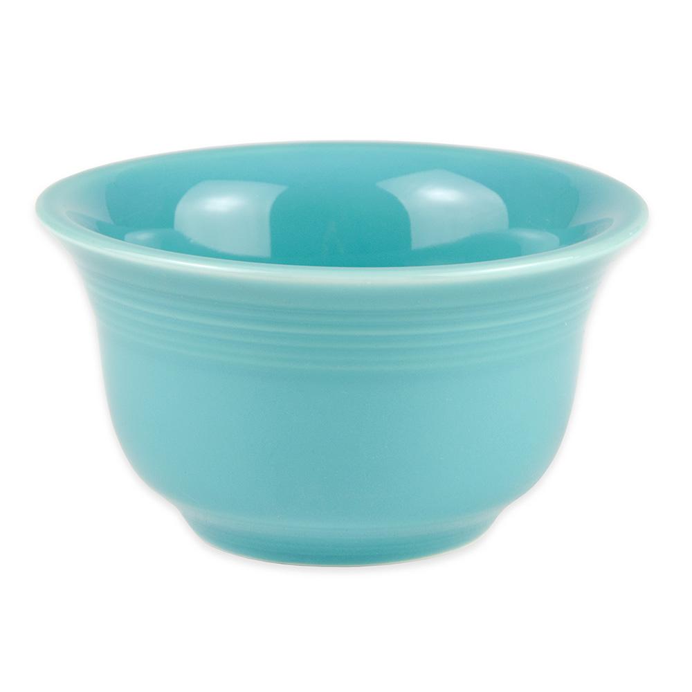 Homer Laughlin 450107 6.75-oz Fiesta Bouillon Bowl - China, Turquoise
