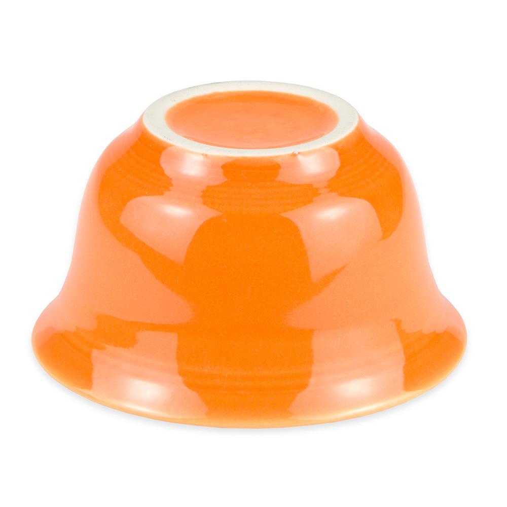 Homer Laughlin 450325 6.75-oz Fiesta Bouillon Bowl - China, Tangerine