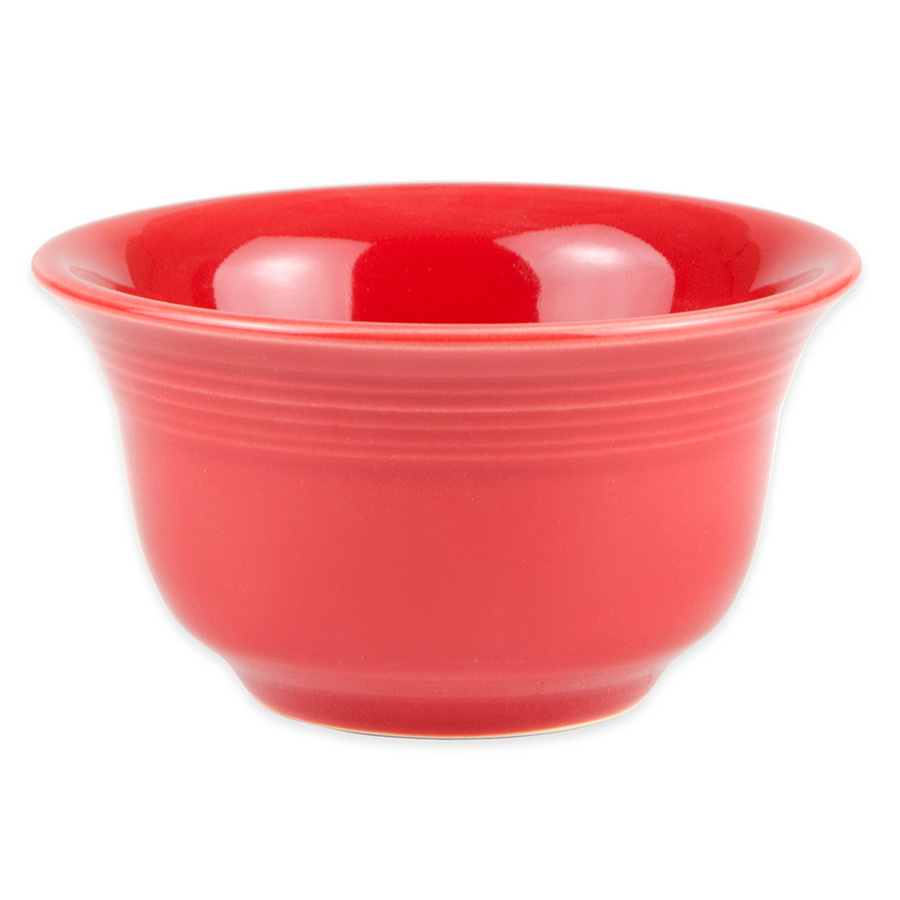 Homer Laughlin 450326 6.75-oz Fiesta Bouillon Bowl - China, Scarlet