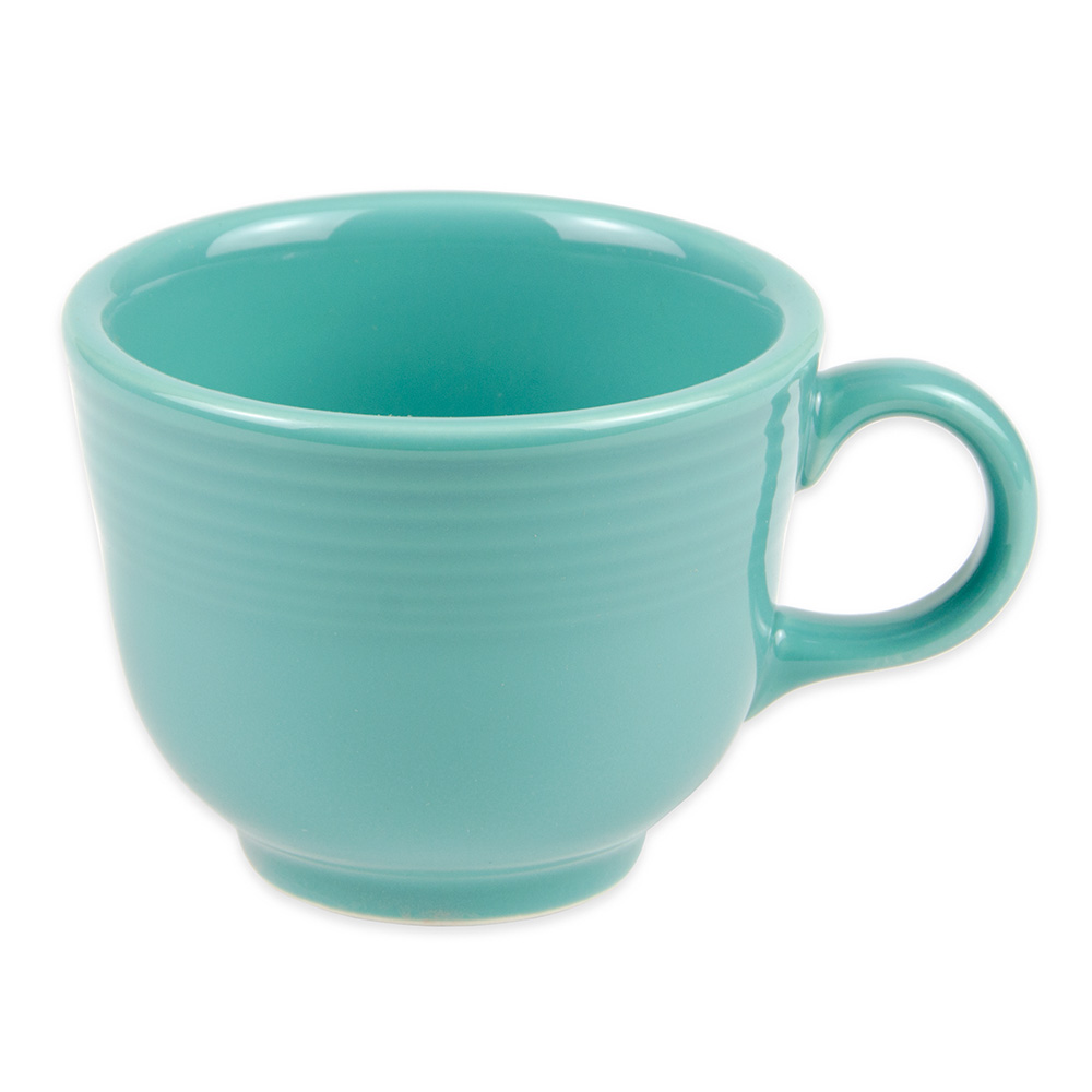 Homer Laughlin 452107 7.75-oz Fiesta Cup - China, Turquoise