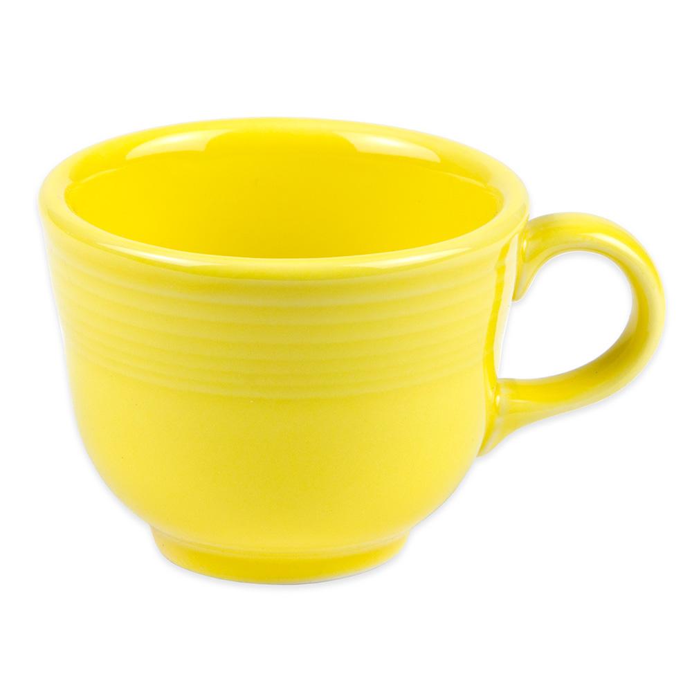 Homer Laughlin 452320 7.75-oz Fiesta Cup - China, Sunflower