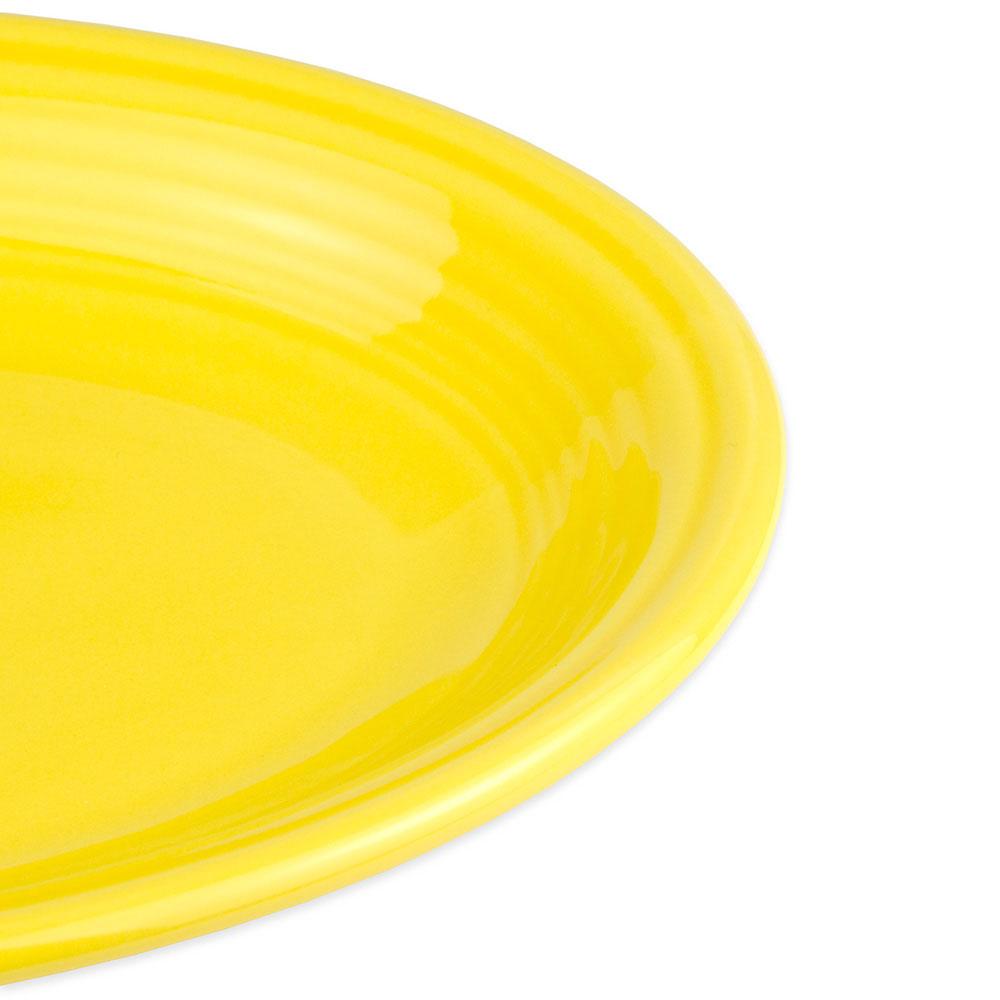 """Homer Laughlin 456320 9.63"""" Oval Fiesta Platter - China, Sunflower"""