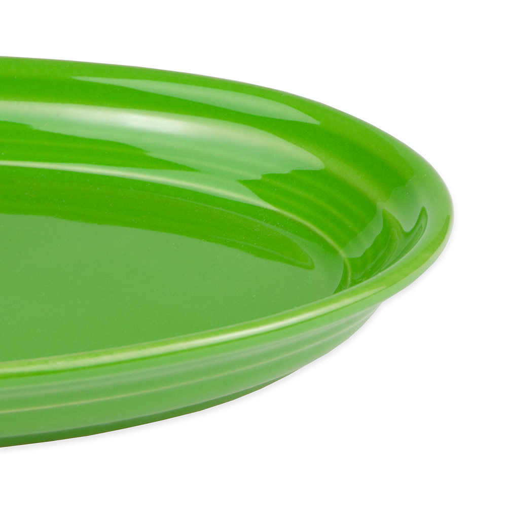 "Homer Laughlin 456324 9.63"" Oval Fiesta Platter - China, Shamrock"