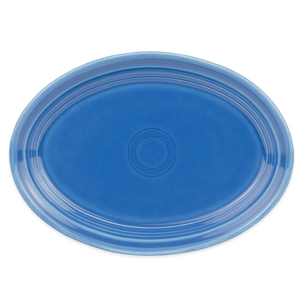 "Homer Laughlin 456337 9.63"" Oval Fiesta Platter - China, Lapis"