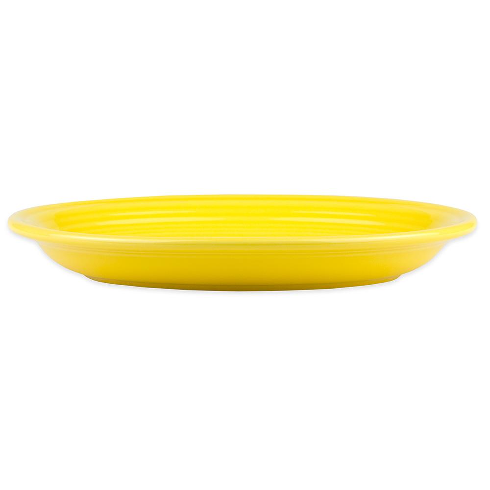 """Homer Laughlin 457320 11.63"""" Oval Fiesta Platter - China, Sunflower"""