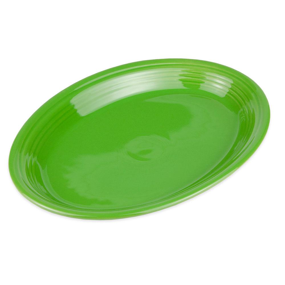"Homer Laughlin 457324 11.63"" Oval Fiesta Platter - China, Shamrock"