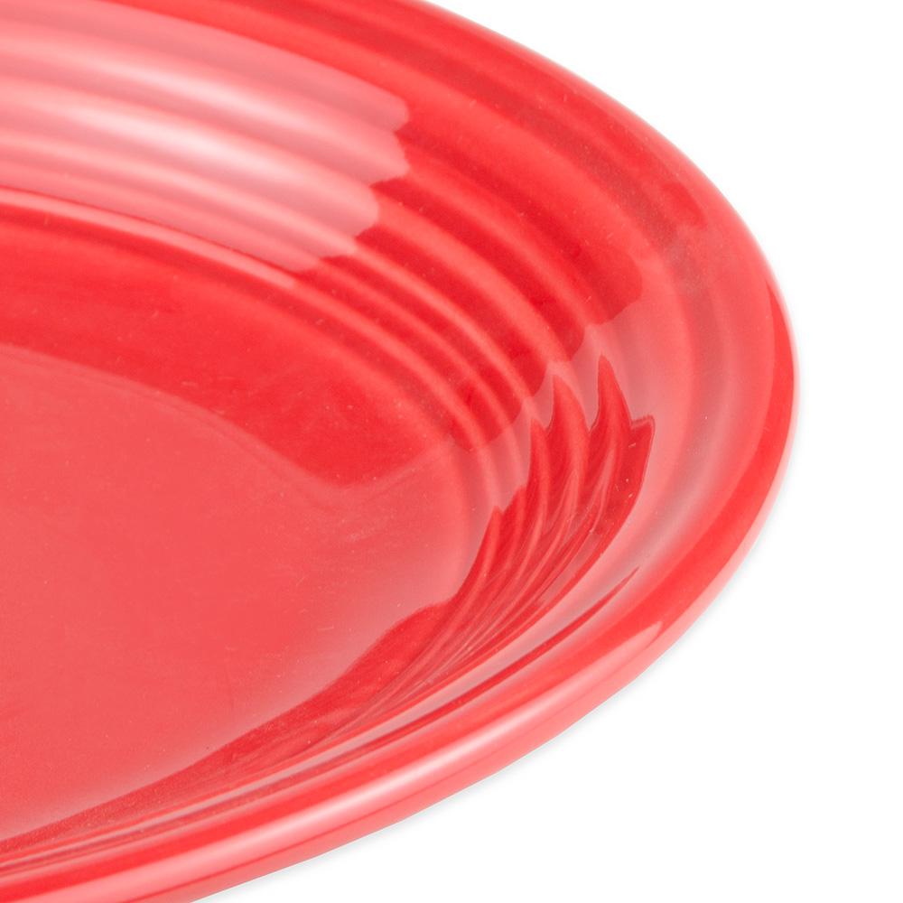 """Homer Laughlin 457326 11.63"""" Oval Fiesta Platter - China, Scarlet"""