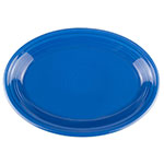 "Homer Laughlin 458337 13.63"" Oval Fiesta Platter - China, Lapis"