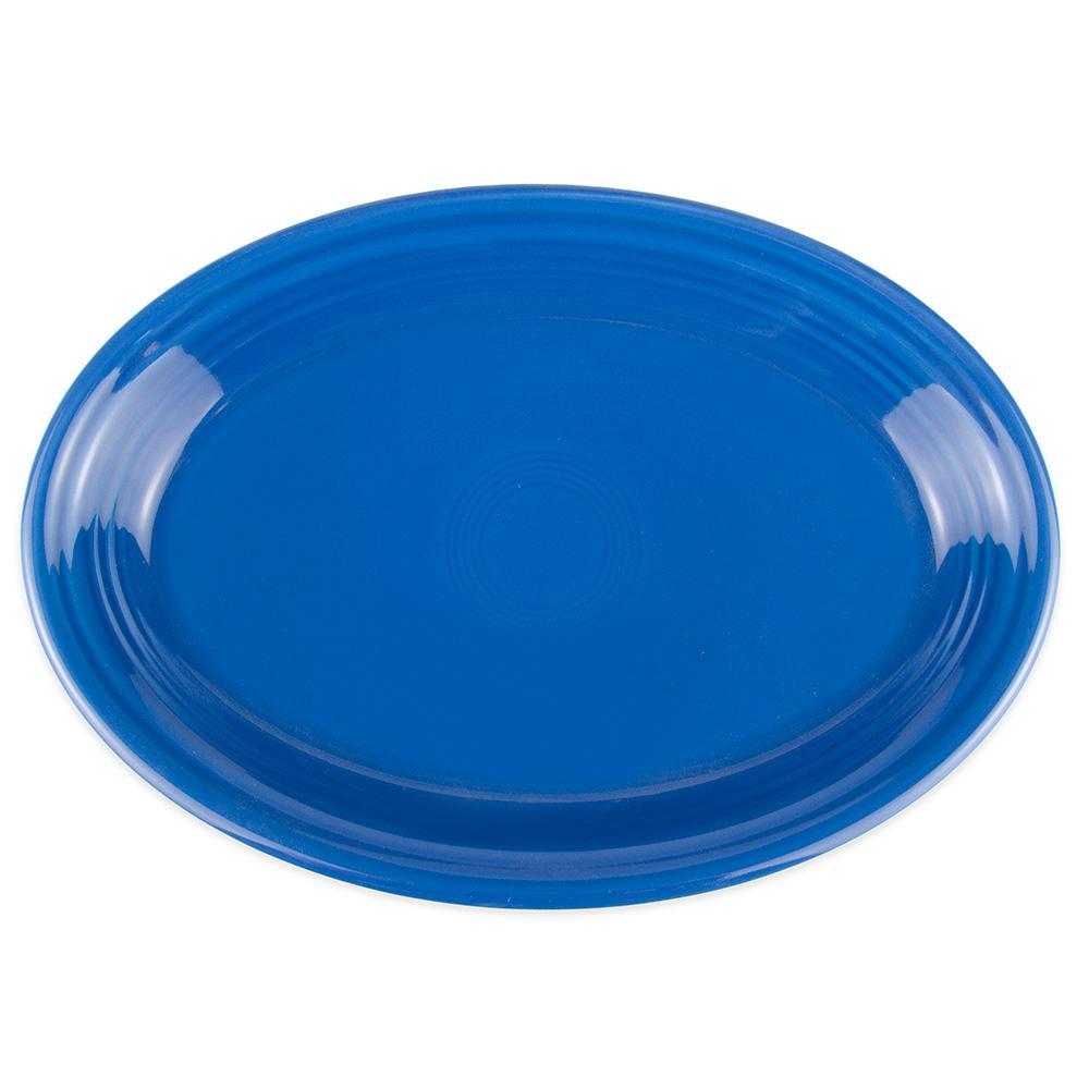 "Homer Laughlin 458337 13.63"" Oval Fiesta Platter - China, Lapis"