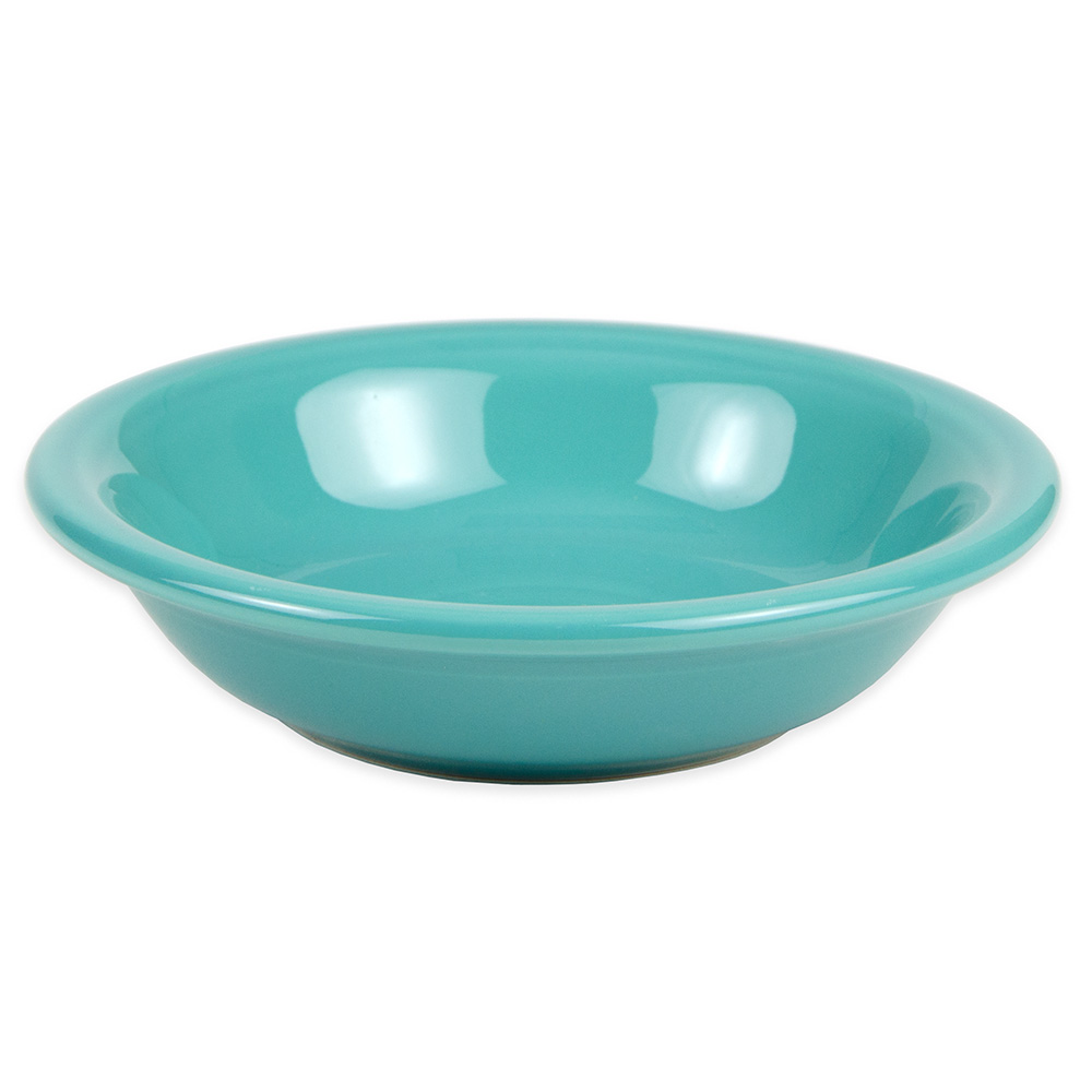 Homer Laughlin 459107 6.25-oz Fiesta Soup Bowl - China, Turquoise