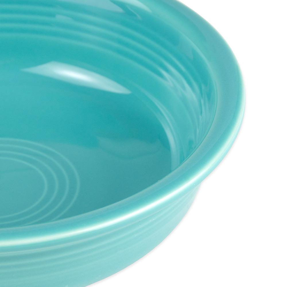 Homer Laughlin 461107 19-oz Fiesta Bowl - China, Turquoise
