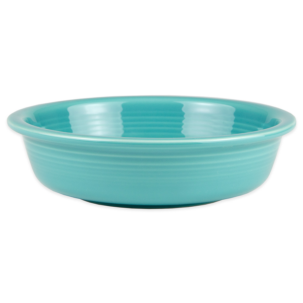 Homer Laughlin 461107 19-oz Fiesta Bowl - China, Turquoise
