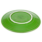 "Homer Laughlin 463324 6.13"" Round Fiesta Plate - China, Shamrock"
