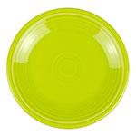 """Homer Laughlin 463332 6.13"""" Round Fiesta Plate - China, Lemongrass"""