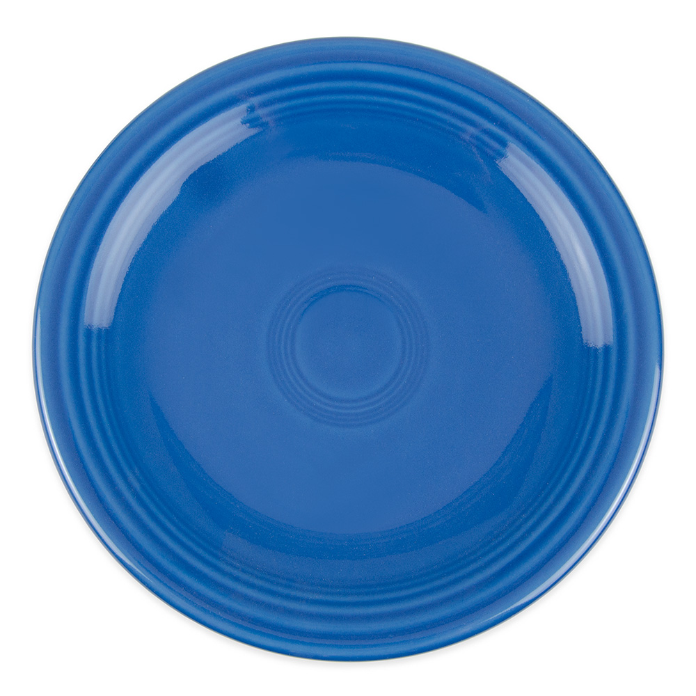 "Homer Laughlin 463337 6.13"" Round Fiesta Plate - China, Lapis"