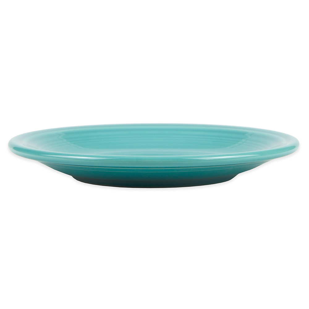"""Homer Laughlin 464107 7.25"""" Round Fiesta Plate - China, Turquoise"""