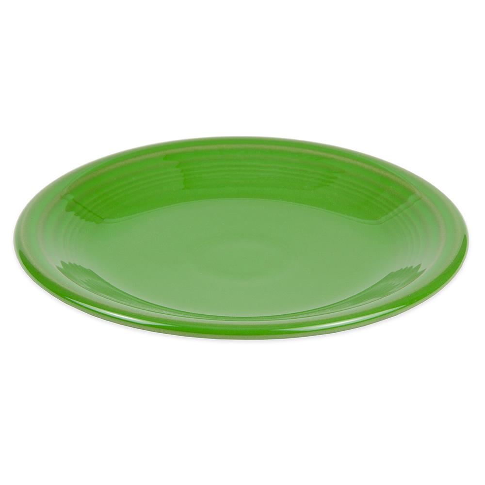 "Homer Laughlin 464324 7.25"" Round Fiesta Plate - China, Shamrock"