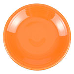 "Homer Laughlin 464325 7.25"" Round Fiesta Plate - China, Tangerine"