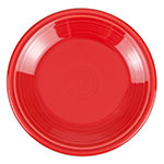 "Homer Laughlin 464326 7.25"" Round Fiesta Plate - China, Scarlet"