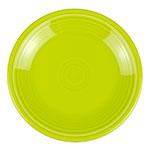 """Homer Laughlin 464332 7.25"""" Round Fiesta Plate - China, Lemongrass"""