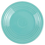 "Homer Laughlin 465107 9"" Round Fiesta Plate - China, Turquoise"
