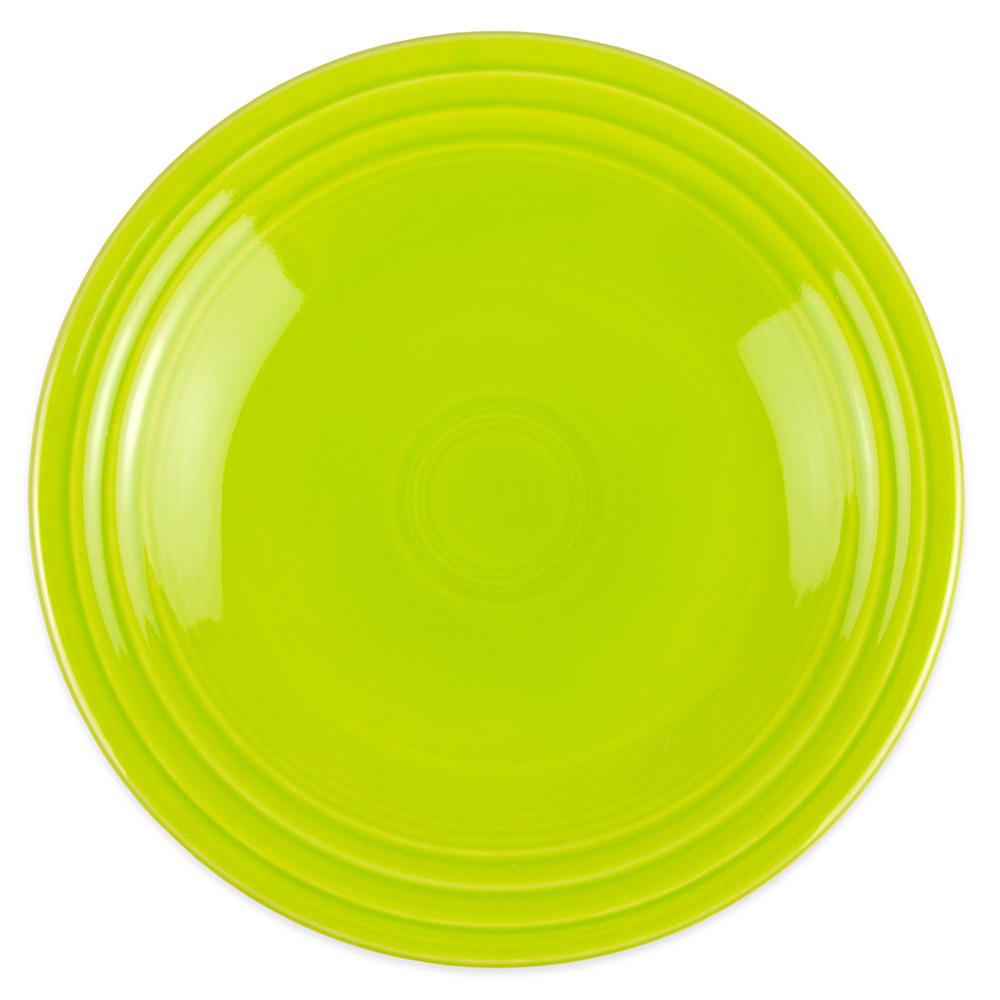 """Homer Laughlin 465332 9"""" Round Fiesta Plate - China, Lemongrass"""