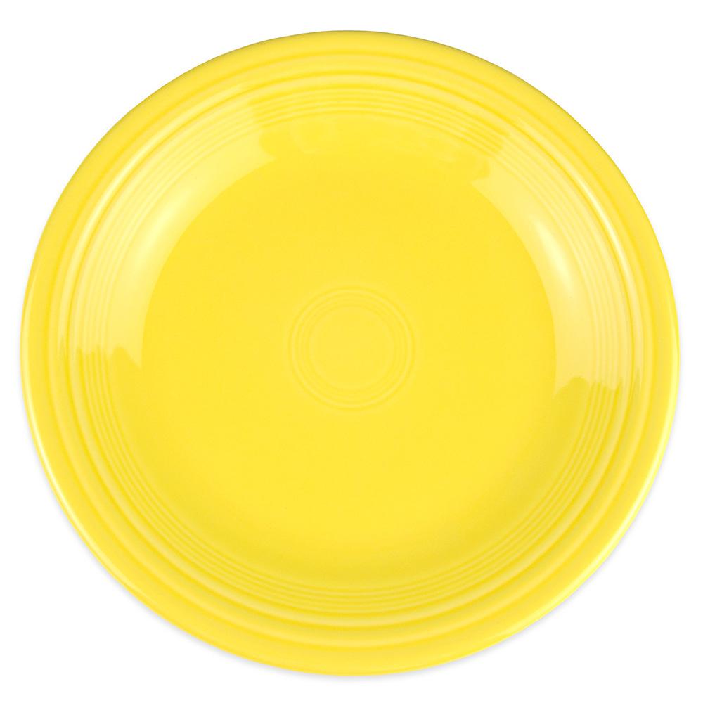 "Homer Laughlin 466320 10.5"" Round Fiesta Plate - China, Sunflower"