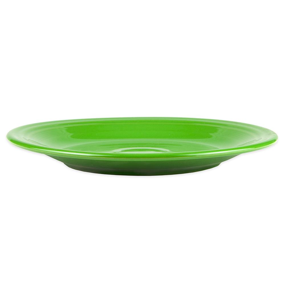 "Homer Laughlin 466324 10.5"" Round Fiesta Plate - China, Shamrock"