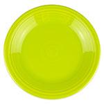 """Homer Laughlin 466332 10.5"""" Round Fiesta Plate - China, Lemongrass"""