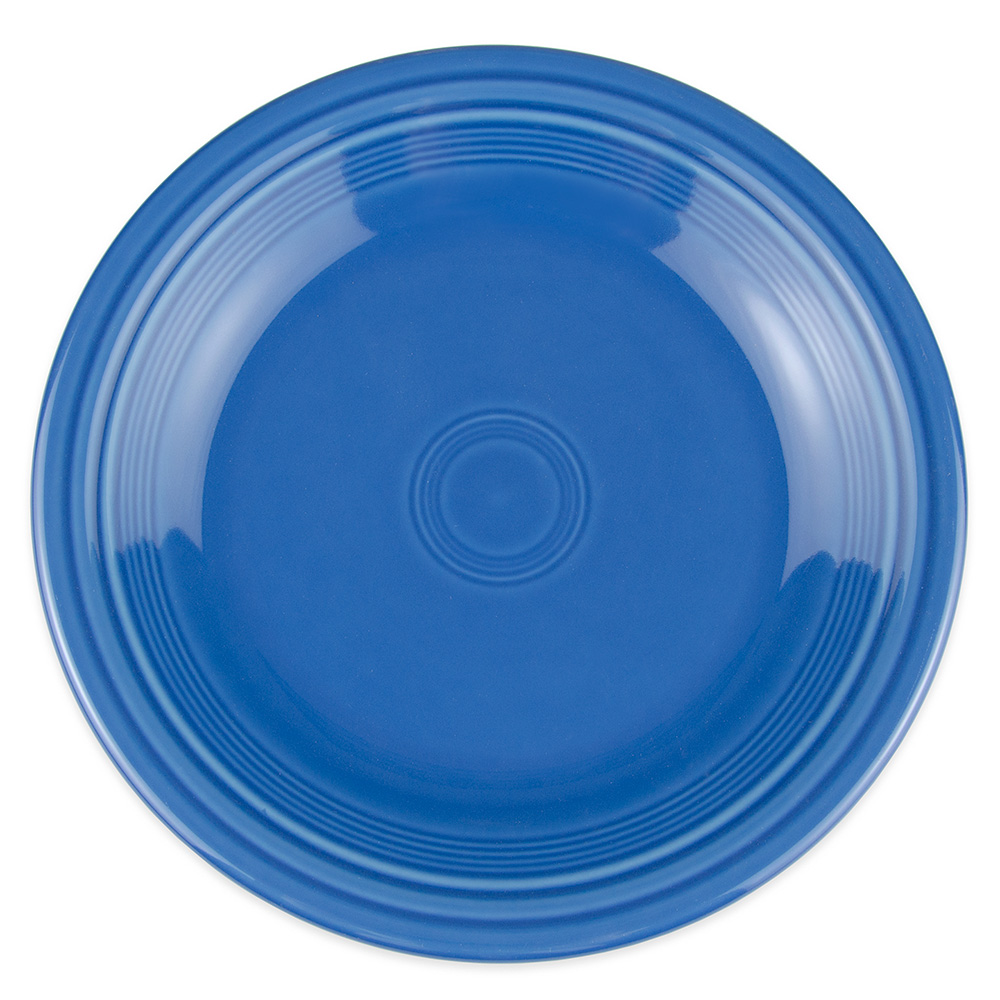 "Homer Laughlin 466337 10.5"" Round Fiesta Plate - China, Lapis"