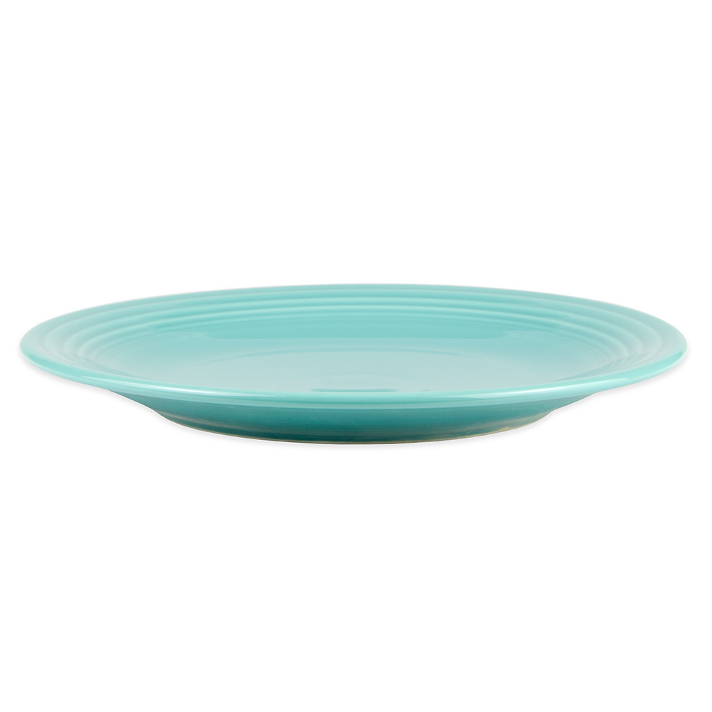"""Homer Laughlin 467107 11.75"""" Round Fiesta Plate - China, Turquoise"""