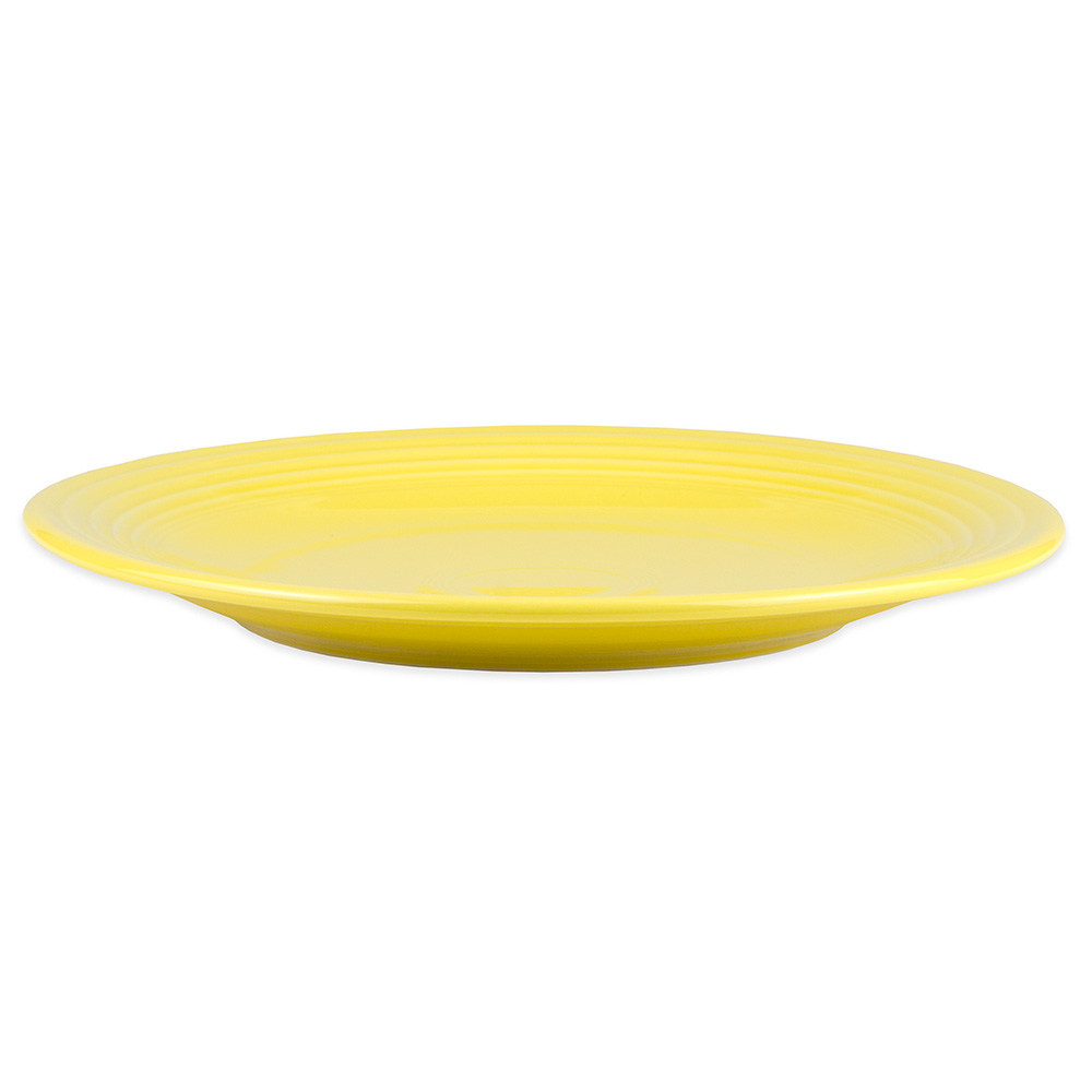"Homer Laughlin 467320 11.75"" Round Fiesta Plate - China, Sunflower"