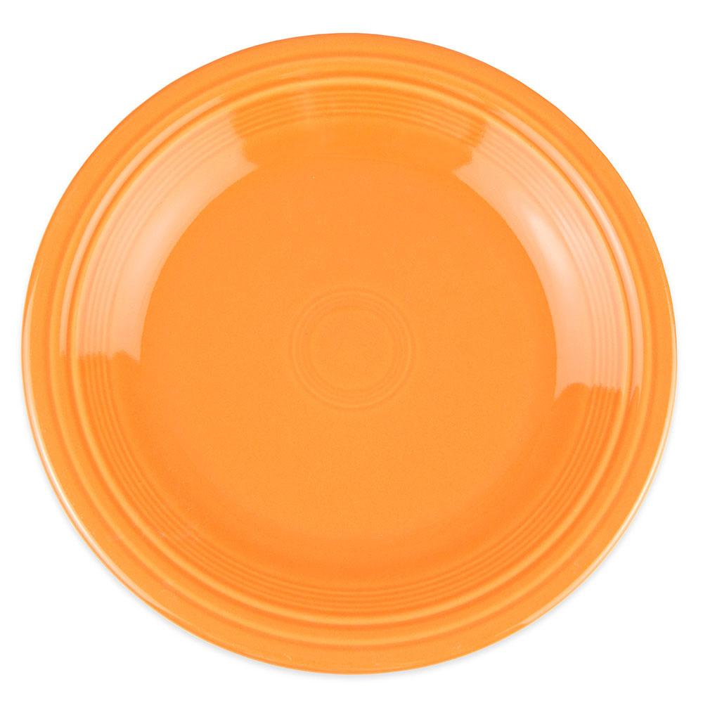 """Homer Laughlin 467325 11.75"""" Round Fiesta Plate - China, Tangerine"""