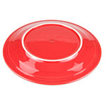 "Homer Laughlin 467326 11.75"" Round Fiesta Plate - China, Scarlet"