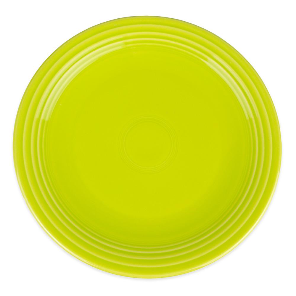 """Homer Laughlin 467332 11.75"""" Round Fiesta Plate - China, Lemongrass"""