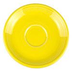 """Homer Laughlin 470320 5.87"""" Fiesta Saucer - China, Sunflower"""