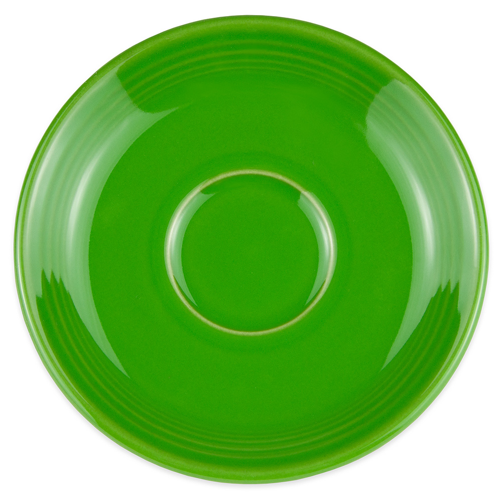 "Homer Laughlin 470324 5.87"" Fiesta Saucer - China, Shamrock"