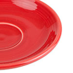 "Homer Laughlin 470326 5.87"" Fiesta Saucer - China, Scarlet"