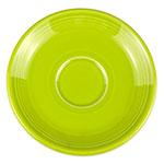"""Homer Laughlin 470332 5.87"""" Fiesta Saucer - China, Lemongrass"""