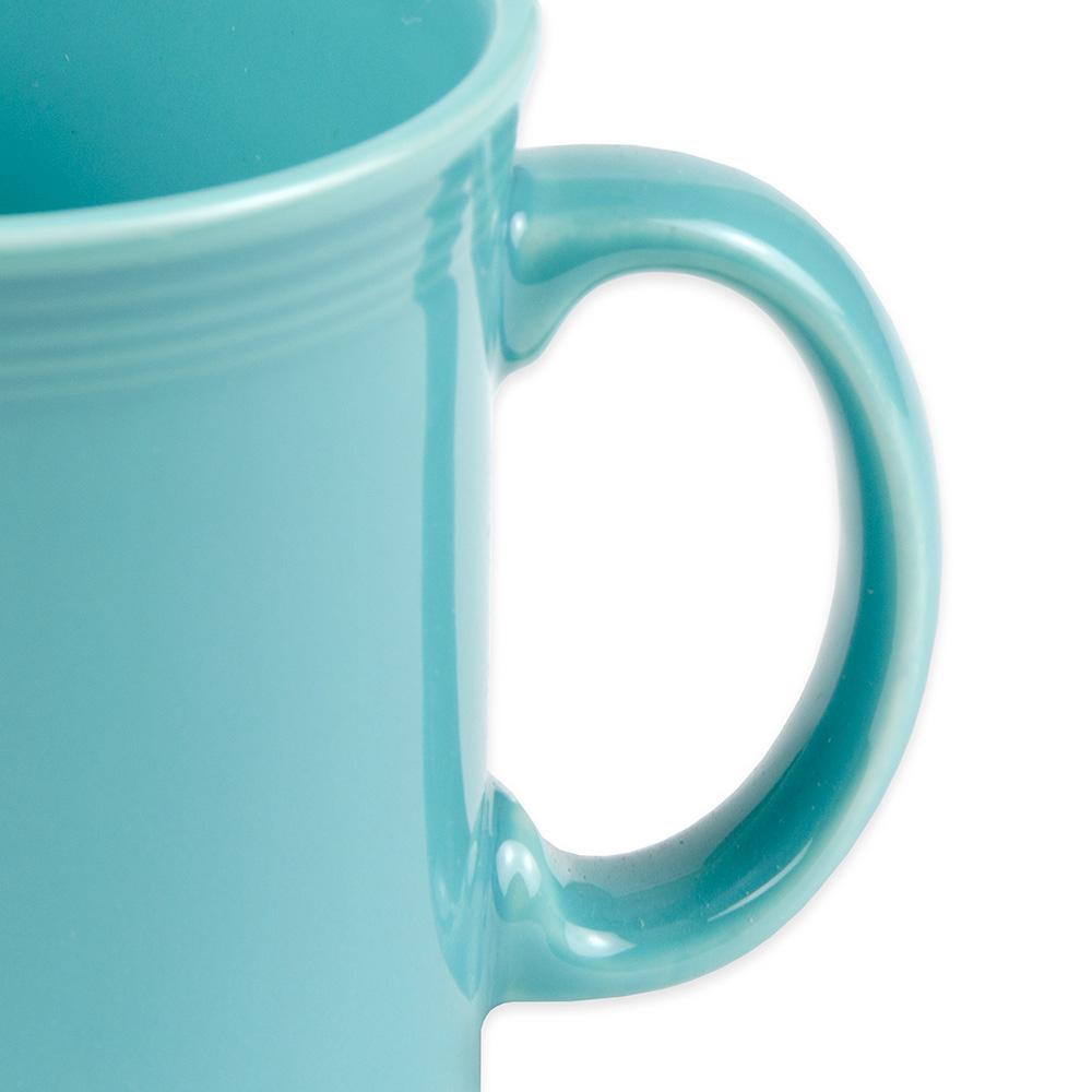 Homer Laughlin 570107 12-oz Fiesta Java Mug - China, Turquoise