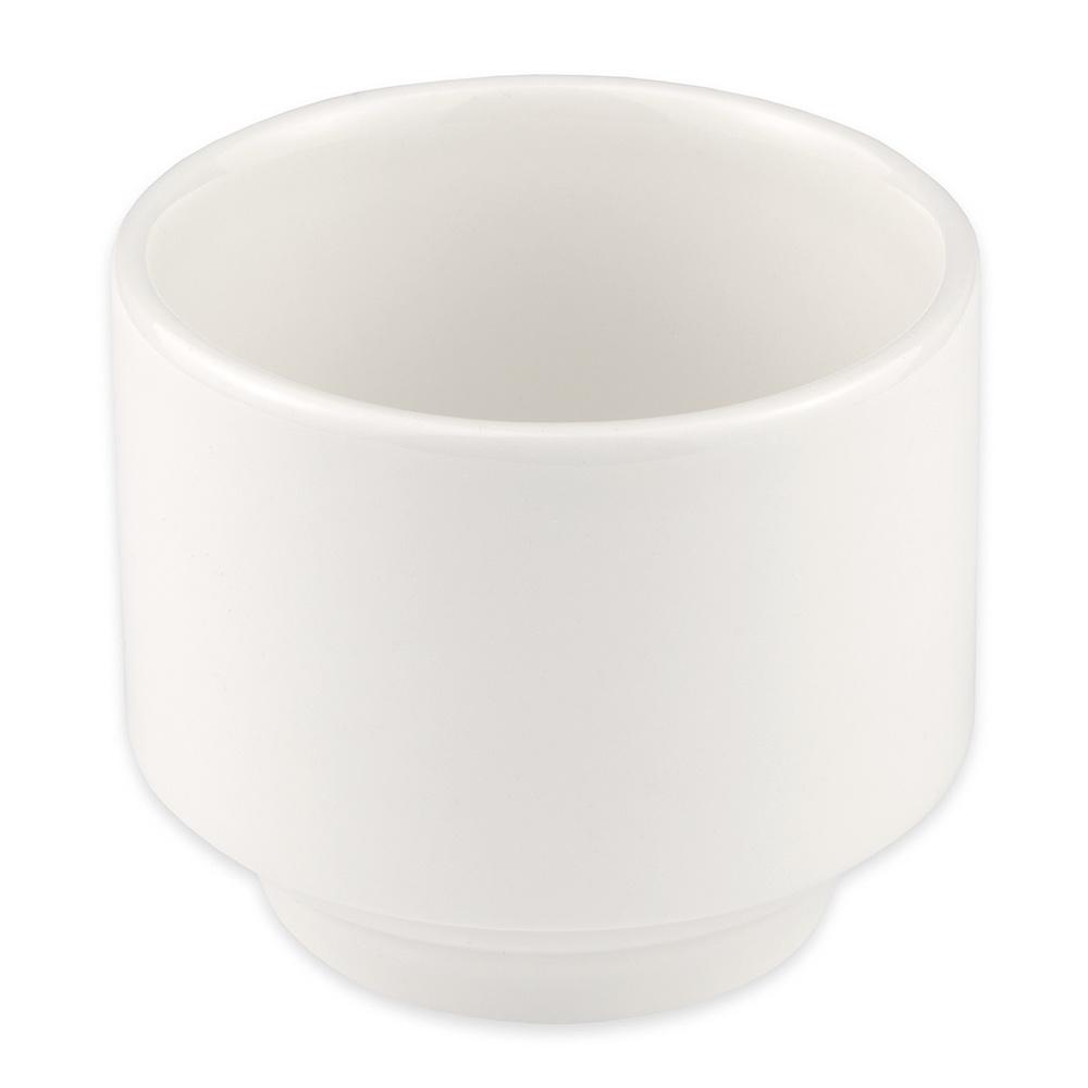 Homer Laughlin 6306000 7-oz Pristine Bouillon Bowl - China, Ameriwhite