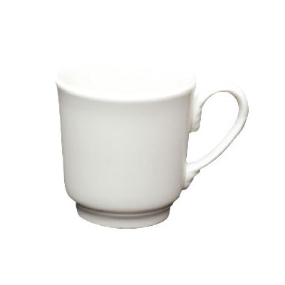 Homer Laughlin 6546000 8-oz Pristine Tea Cup - China, Ameriwhite