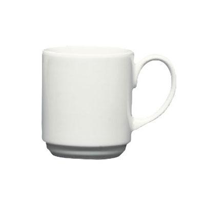Homer Laughlin 6716000 9-oz Pristine Mug - China, Ameriwhite