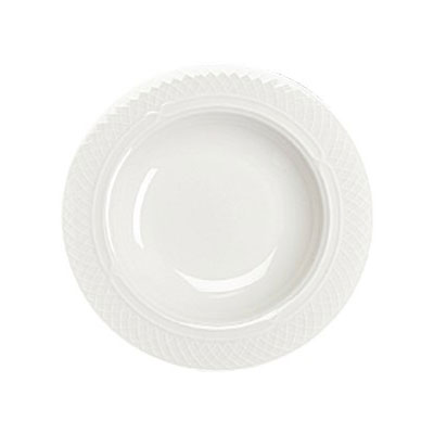 Homer Laughlin 8696900 11-oz Kensington Soup Bowl - China, Ameriwhite