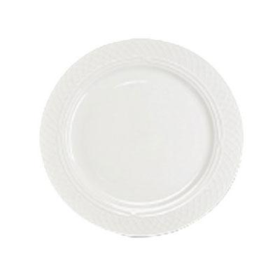 "Homer Laughlin 8826900 12.25"" Round Kensington Plate - China, Ameriwhite"