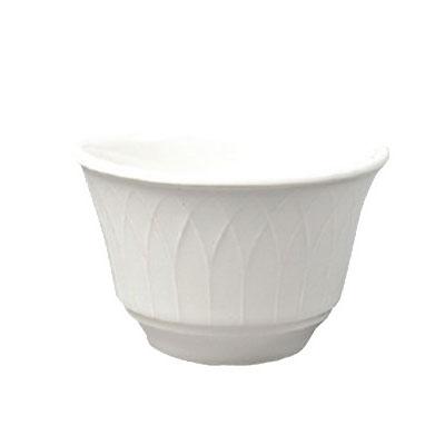 Homer Laughlin 8866900 7-oz Kensington Bouillon Bowl - China, Ameriwhite