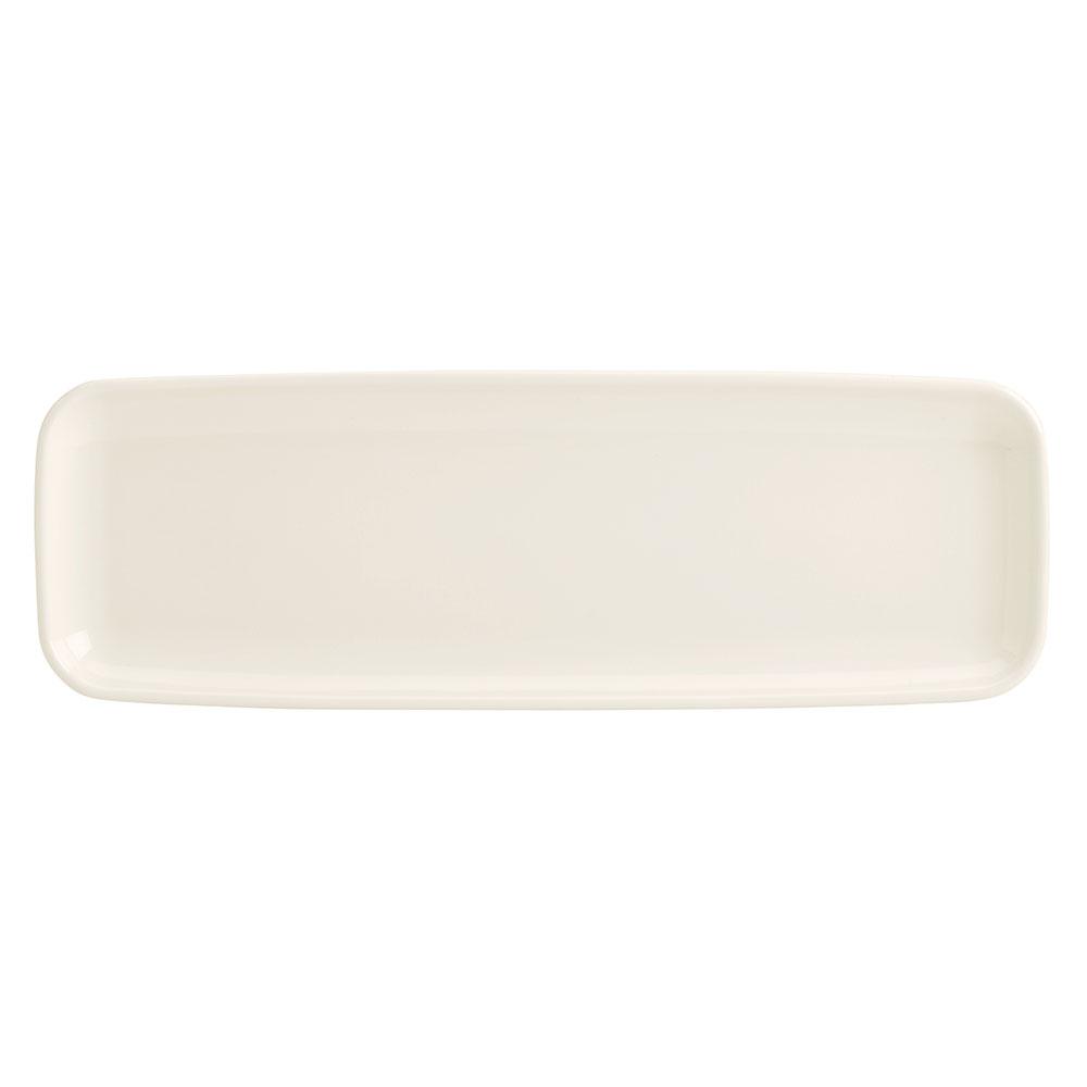 "Homer Laughlin 91400 Rectangular Platter - 6"" x 18"", China, Ivory"