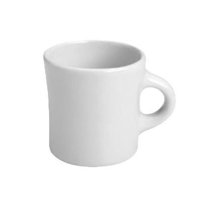 Homer Laughlin 98210000 13-oz Jumbo Mug - China, Arctic White