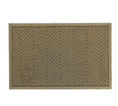 Andersen Mats 2241-3-5 170 Waterhog Eco Elite Fashion Entrance Mat, 3 x 5-ft, Black Smoke